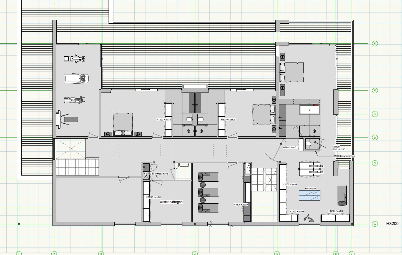 floor plans (interior drawing