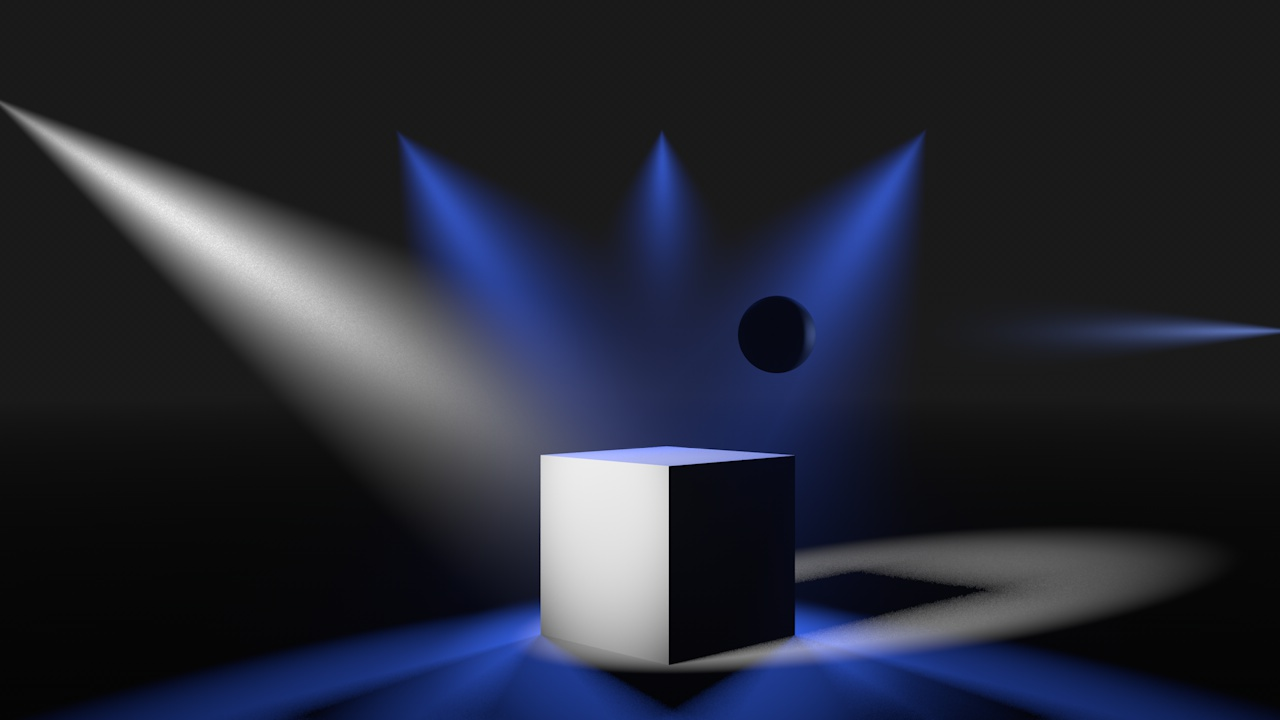 Better control of light objects with volumetric rendering - Wishlist