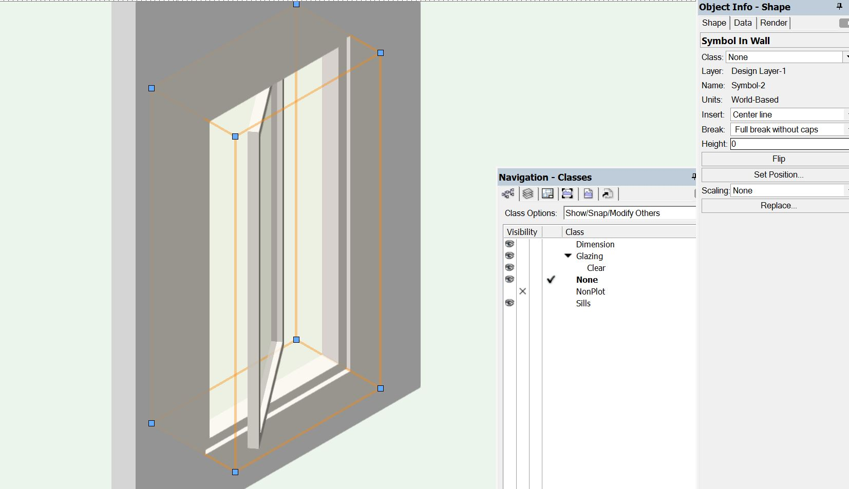 Share this post  sc 1 st  Vectorworks Forum & Problem inserting window and door symbols - Architecture ...