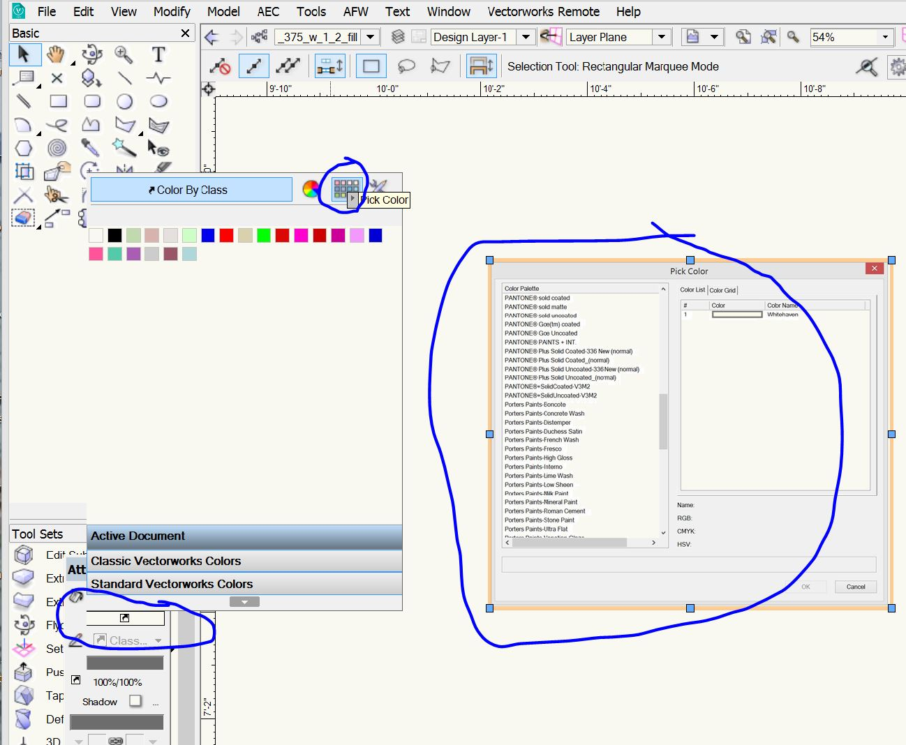 Colour Match Swatches Import General Discussion Vectorworks