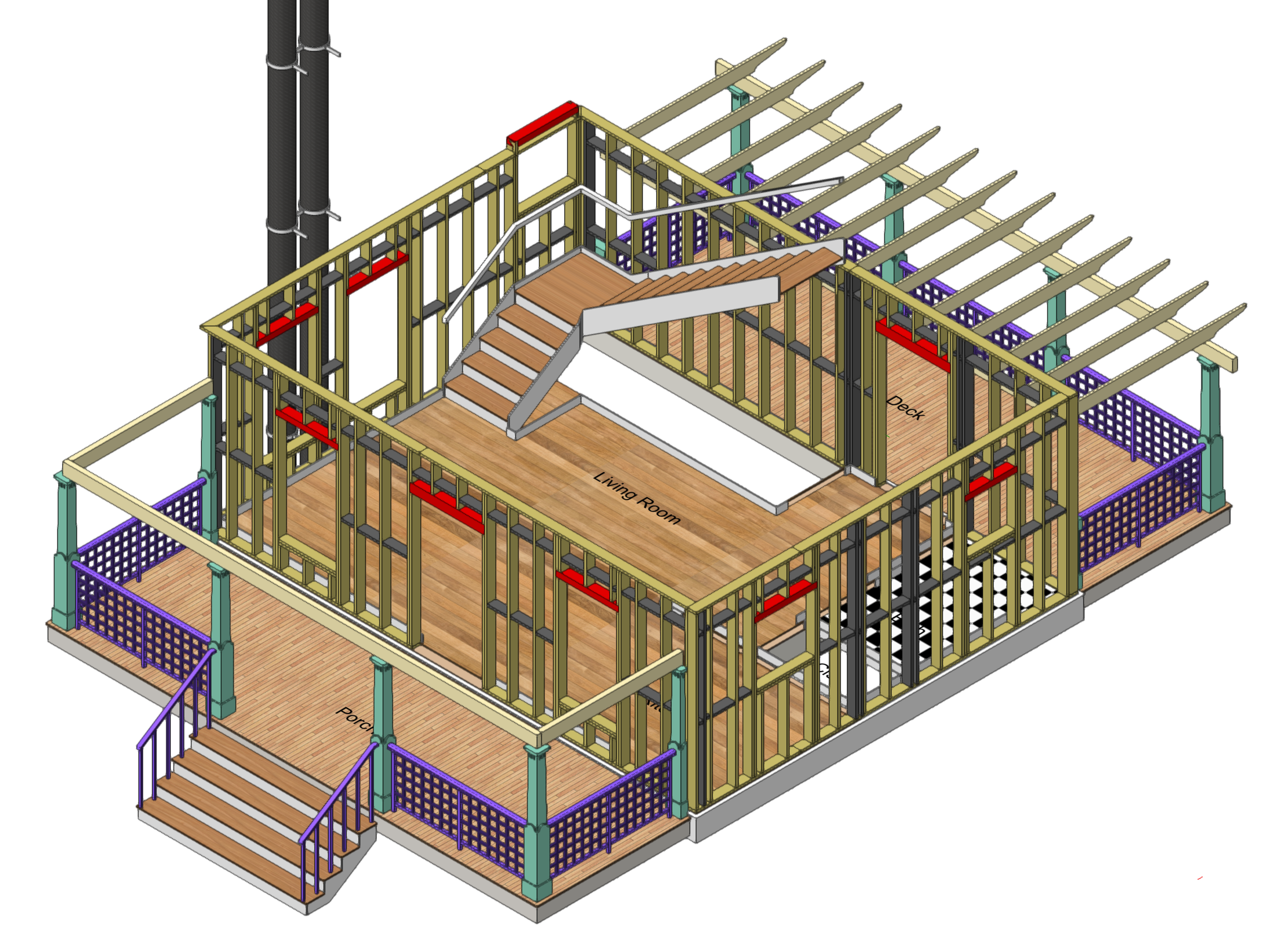 Wall Framing Corners - Architecture - Vectorworks Community Board