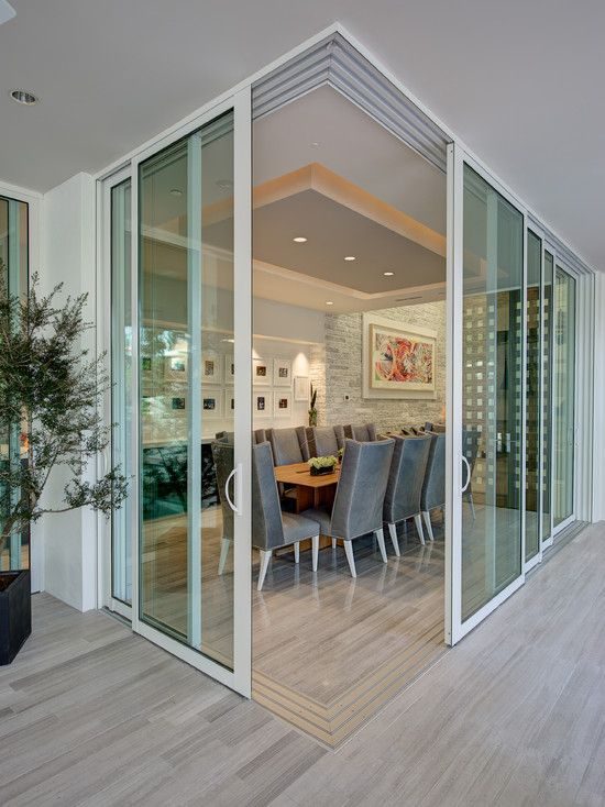 Corner doors wishlist feature and content requests for Corner sliding glass doors
