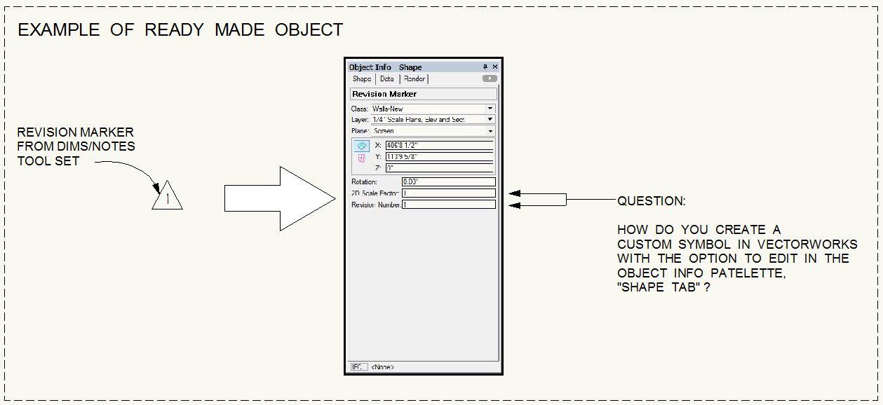 Creating A Custom Parametric Object Vectorscript Vectorworks