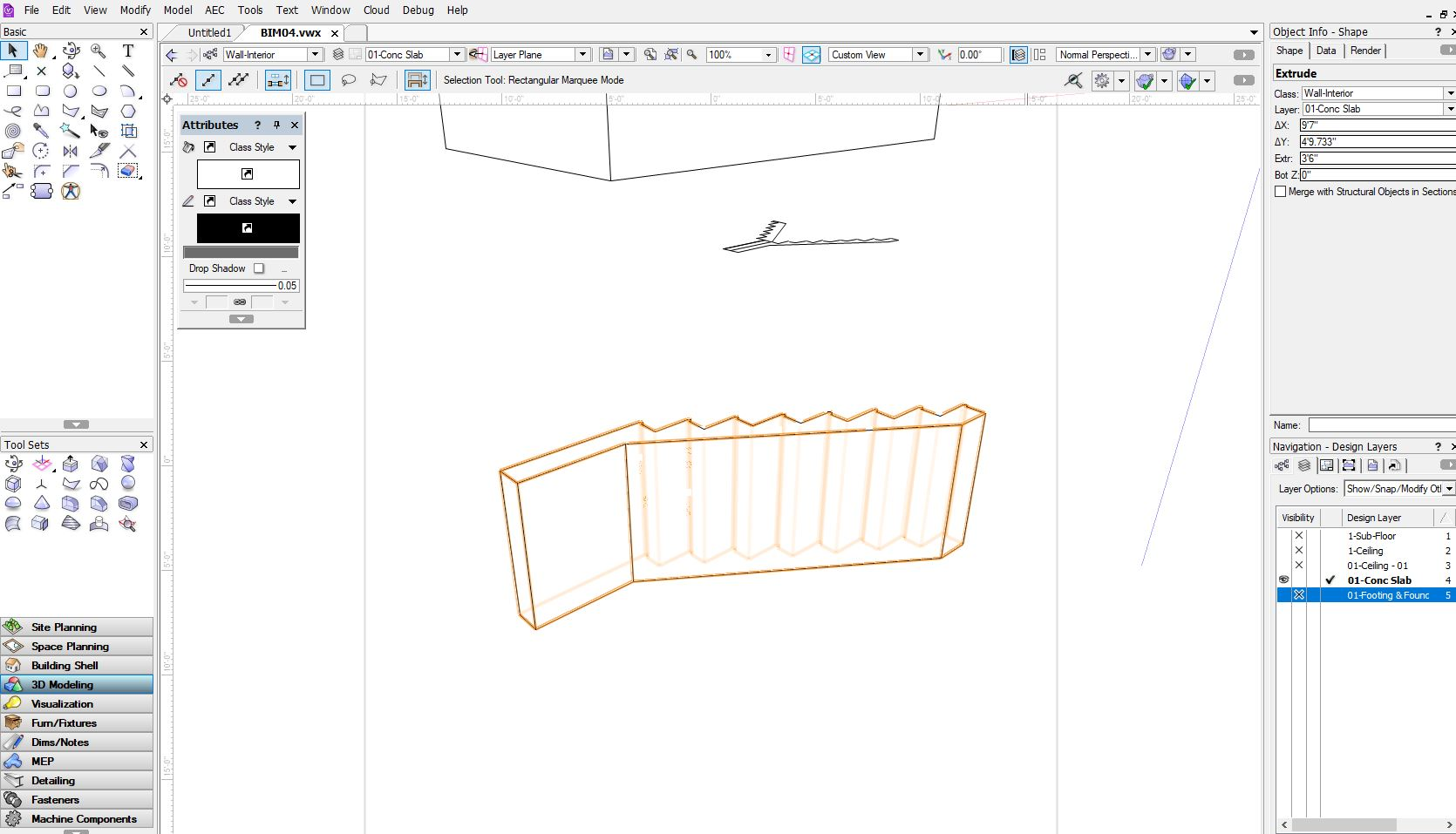 Rotate an extruded shape solids modeling vectorworks community board rotateg ccuart Choice Image