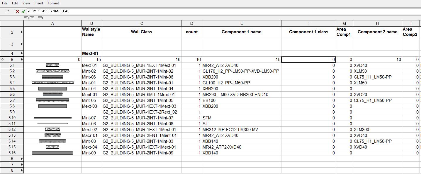 worksheet : wall component class - Architecture - Vectorworks Community  BoardVectorworks Forum