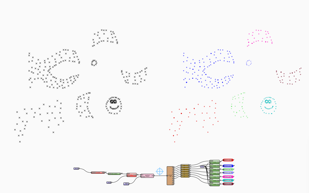 Point Cluster vwx - Marionette - Nodes - Vectorworks Community Board