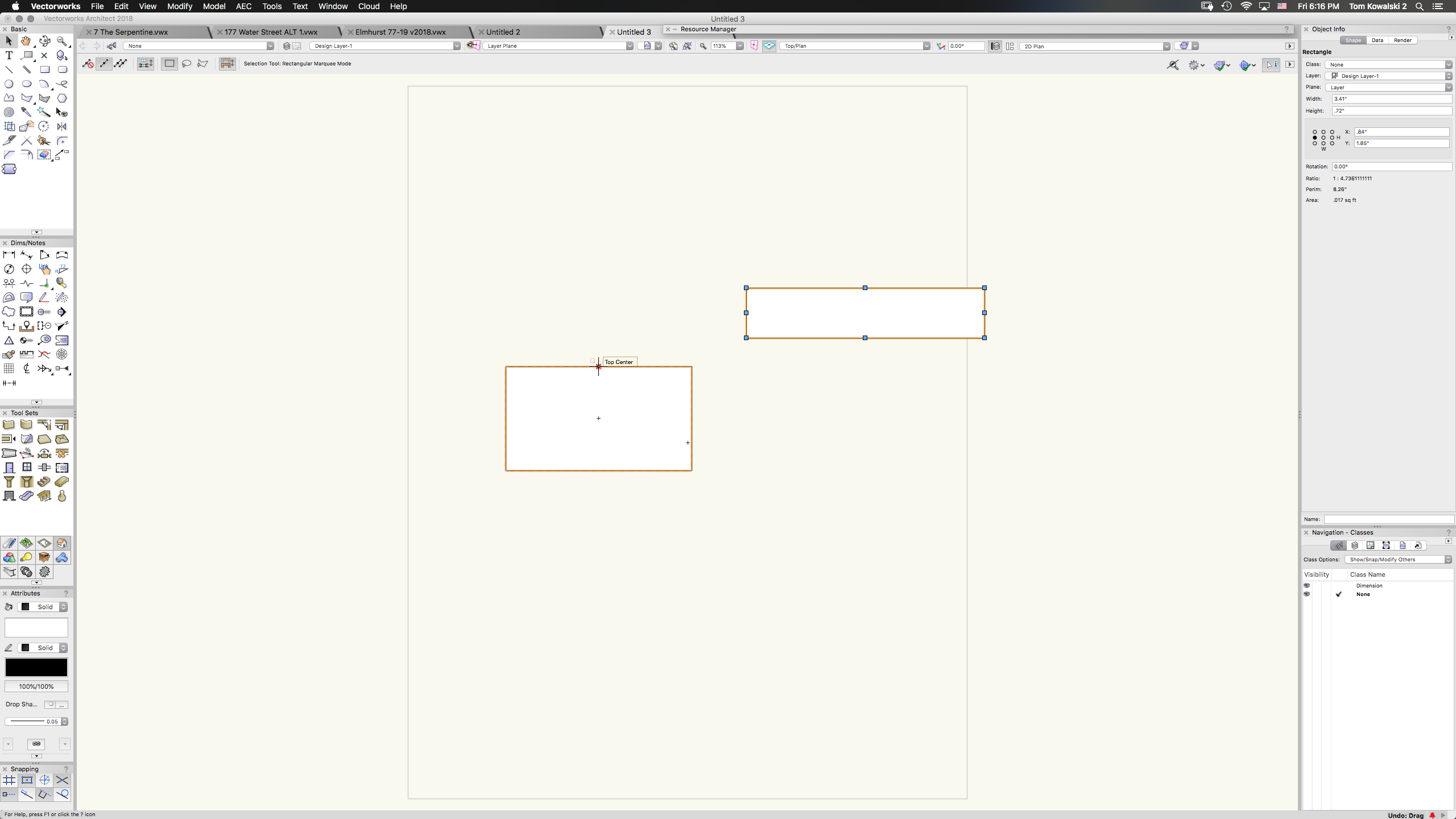 Snap to midpoint question - General Discussion - Vectorworks