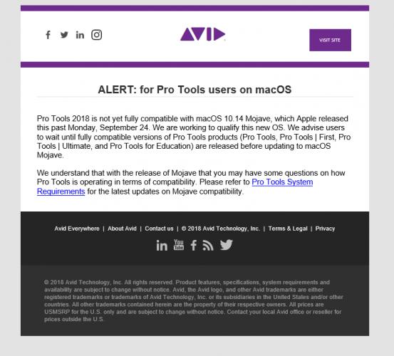 macOS Mojave (10 14) Compatibility - Page 3 - News You Need