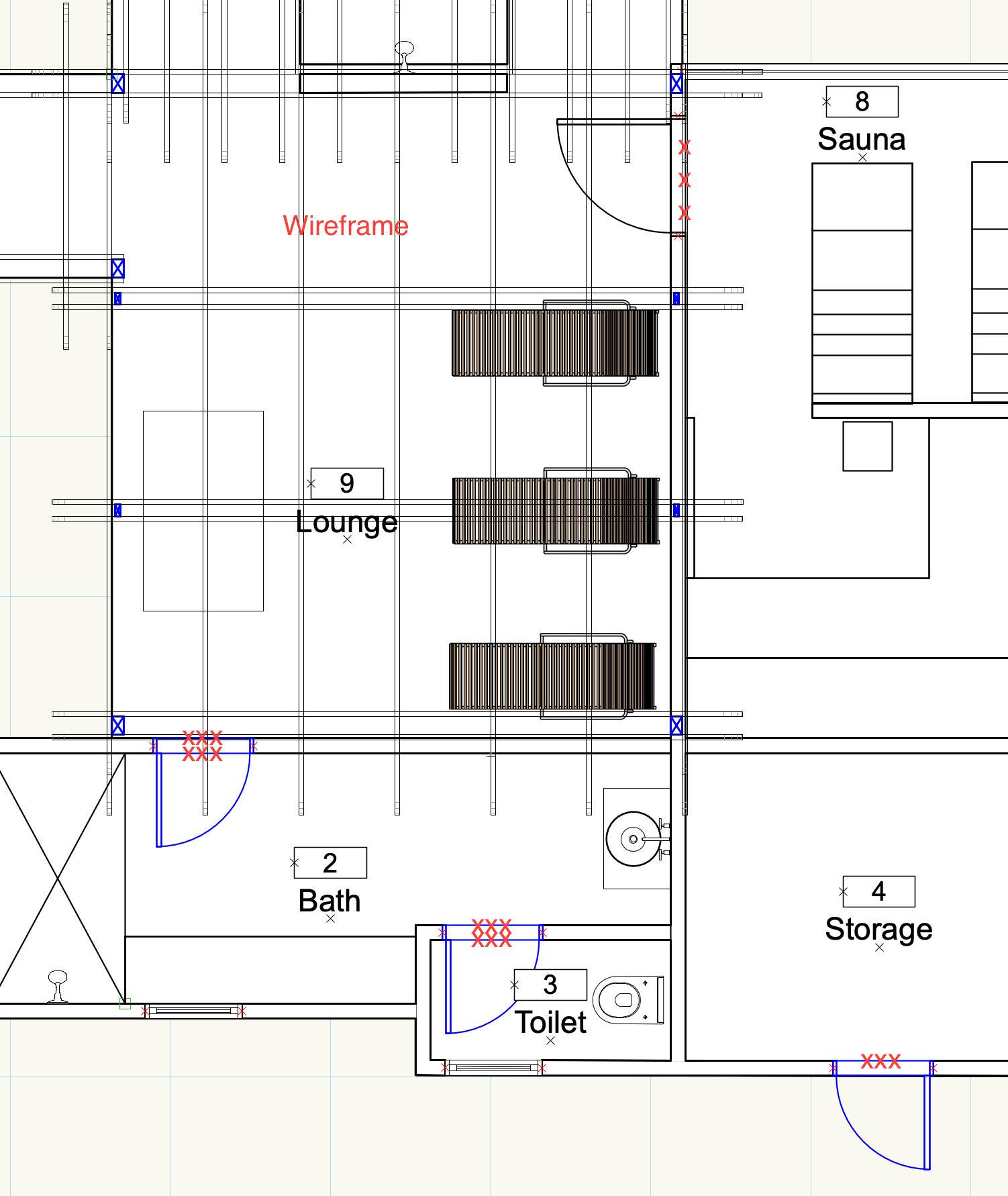 Floor Plan Cut Plane - Architecture
