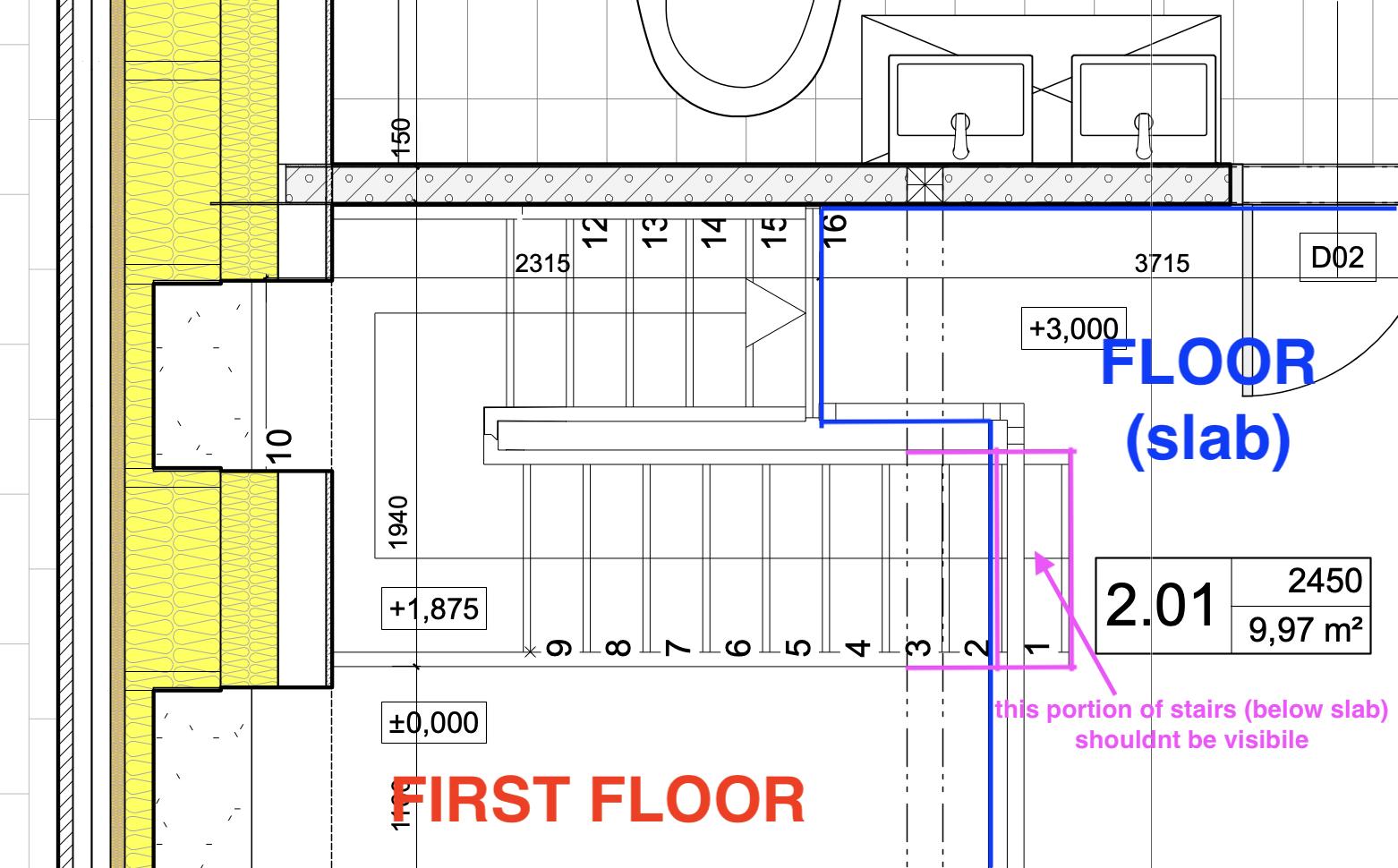 Upper Layer Floor Plan