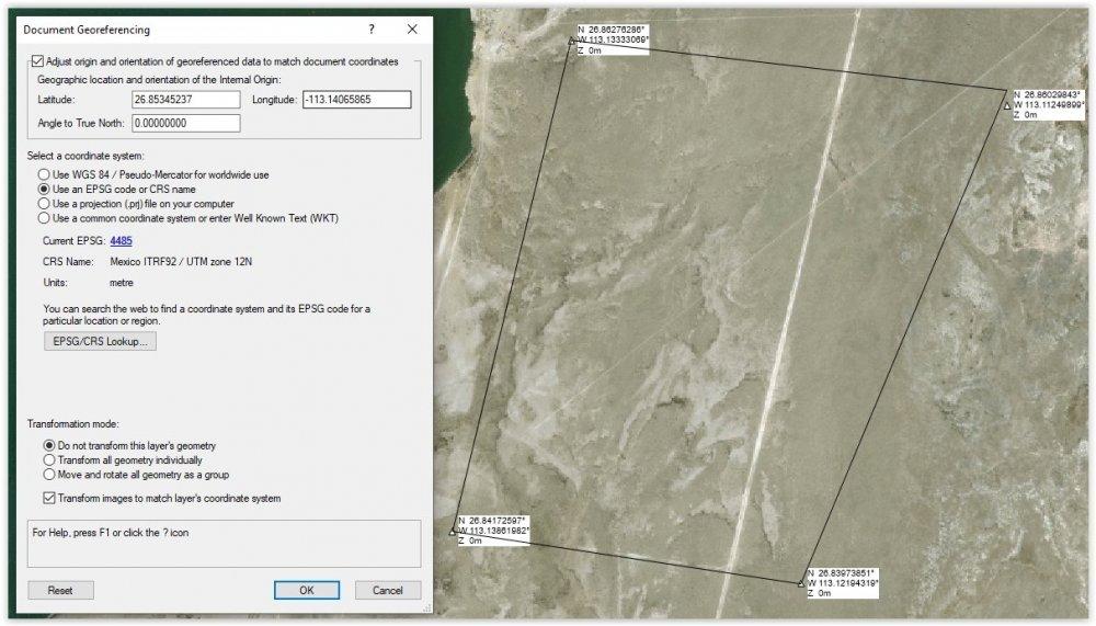 Image 1 - Doc Georef window & site prop attempt.JPG